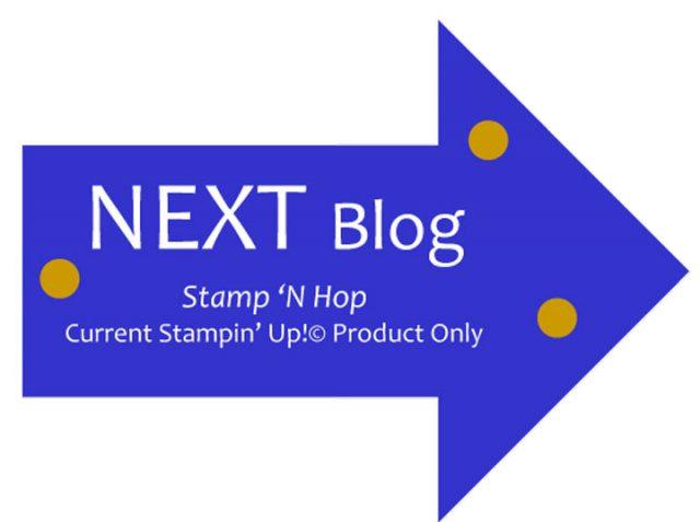 Stamp N' Hop Next Button