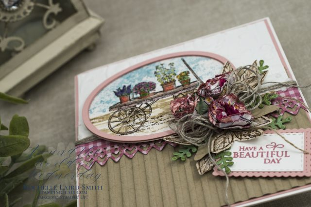 How to shorten a label die cut to fit any sentiment